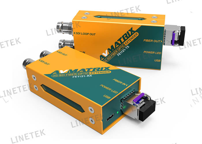 3G SDI FIBER OPTIC EXTENDER